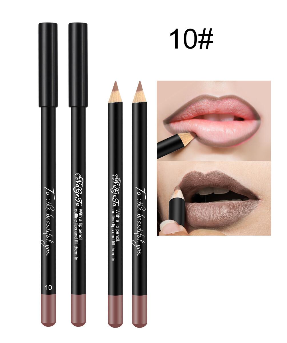 Водостойкий карандаш для губ (тон 10)