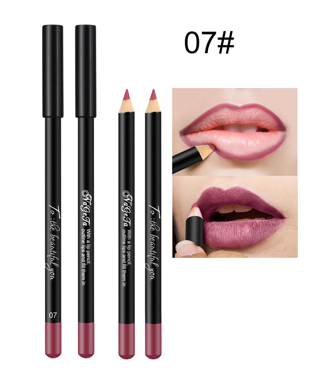 Водостойкий карандаш для губ (тон 07)