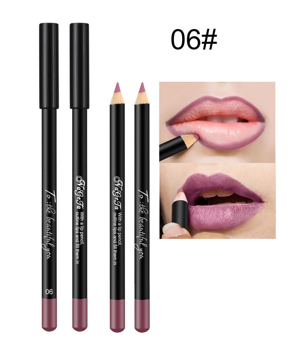 Водостойкий карандаш для губ (тон 06)