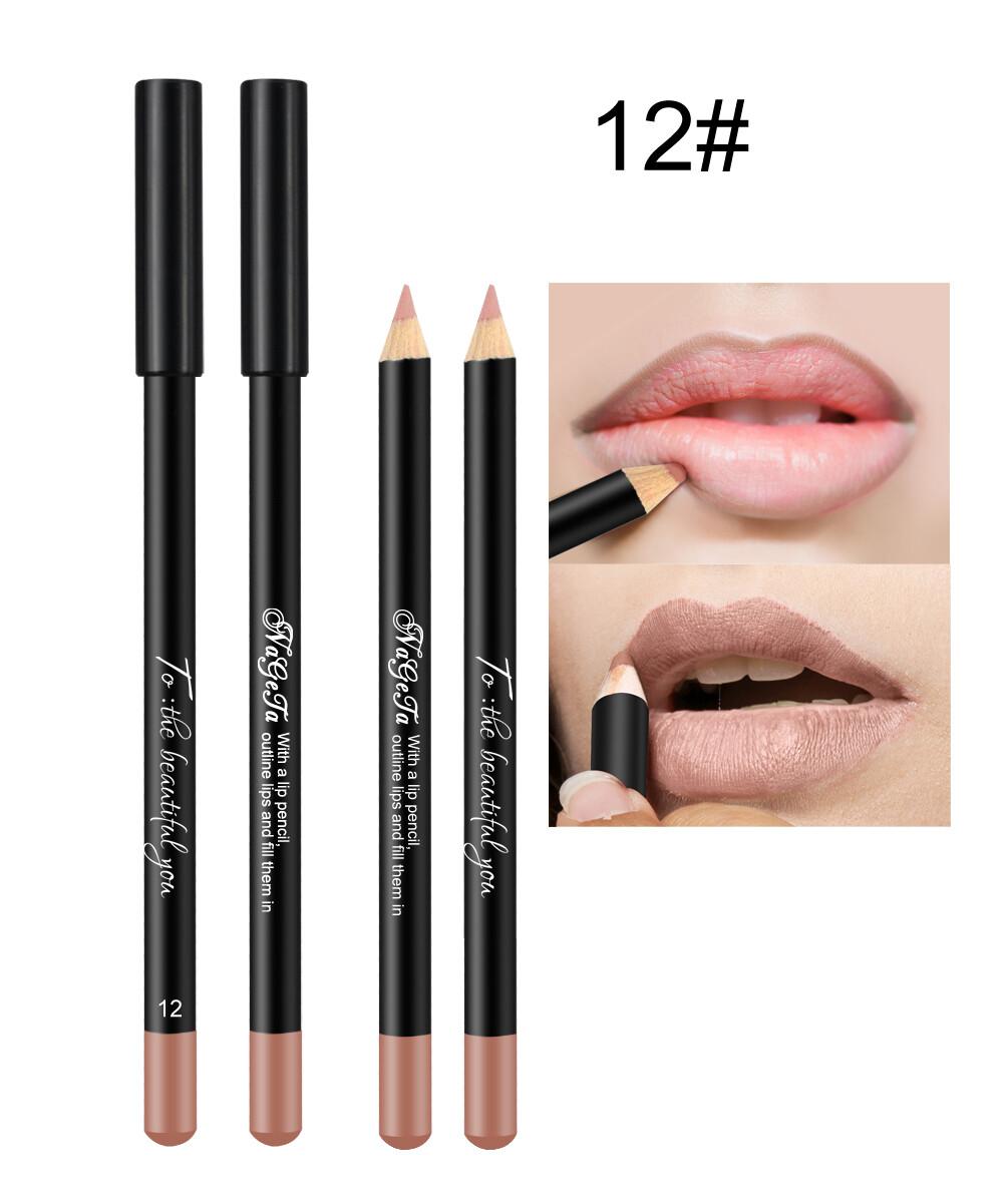 Водостойкий карандаш для губ (тон 12)