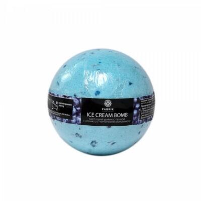 Бомбочка для ванны Черничное мороженое 120 гр.
