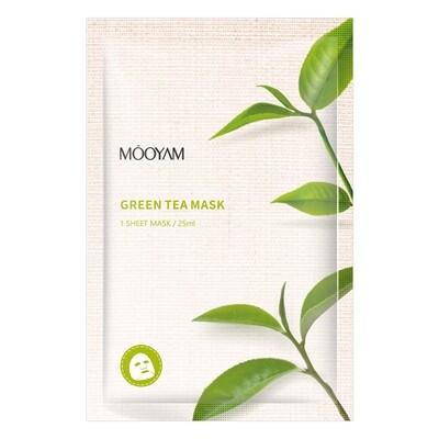 Успокаивающая маска с экстрактом зеленого чая Mooyam