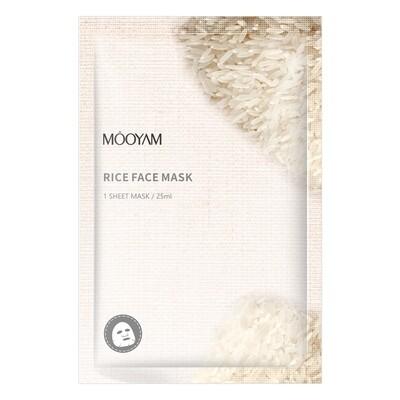 Матирующая маска с экстрактом риса Mooyam