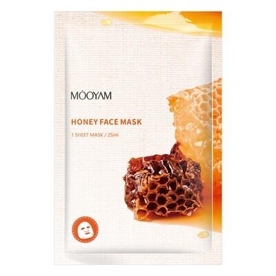Питательная маска с экстрактом меда и жемчугом Mooyam
