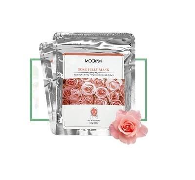 Альгинатная маска с розой Mooyam 100 гр.