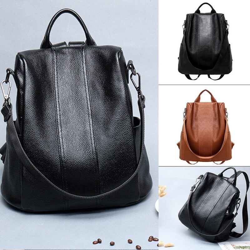 Fashion Backpack High Quality Leather