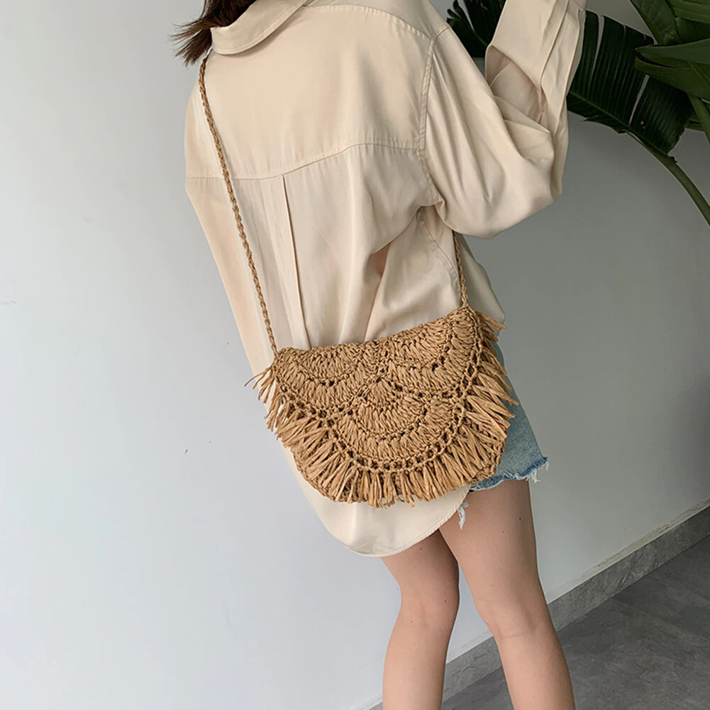 Summer Straw Bags For Women
