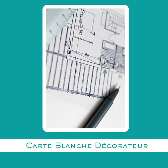 OPTION CARTE BLANCHE DÉCORATEUR