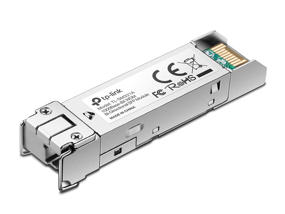 Módulo SFP 1000Base-BX WDM Bi-Direccional TL-SM321A TP-Link