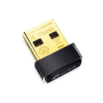 Adaptador de Red Extensor WiFi Nano USB TL-WN725N TP-Link