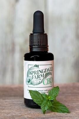 Full-spectrum Organic Hemp Extract - 1000mg - Mint flavor
