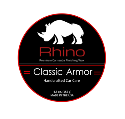 Rhino Armor Trim Restorer - all natural trim restorer