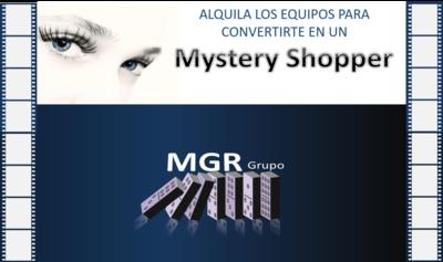 Alquiler de equipos para procesos de mistery Shopper.
