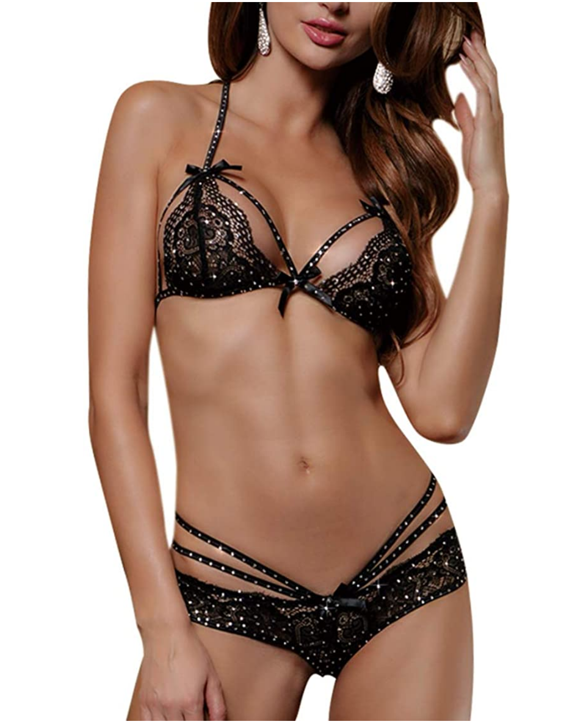 A100 Black Lace Rhine 2 Pc