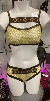 BS113 Yellow/Brown LV Net