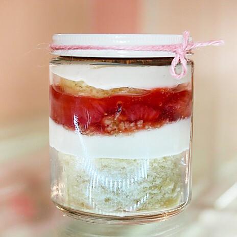 Strawberry Cheesecake In-a- Jar