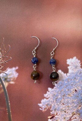 Sky and earth earrings