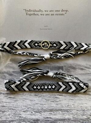 """Cotton Anklet/Bracelet - """"Vanuatu"""" ($12/$8)"""
