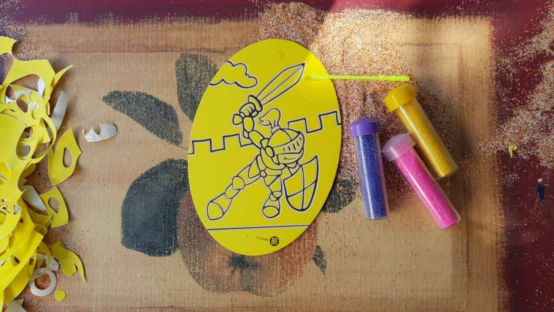 Oval Sand Art Cards