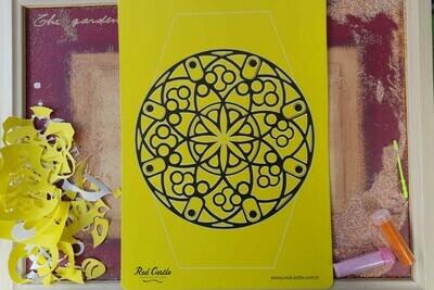 Mandala Sand Art Cards