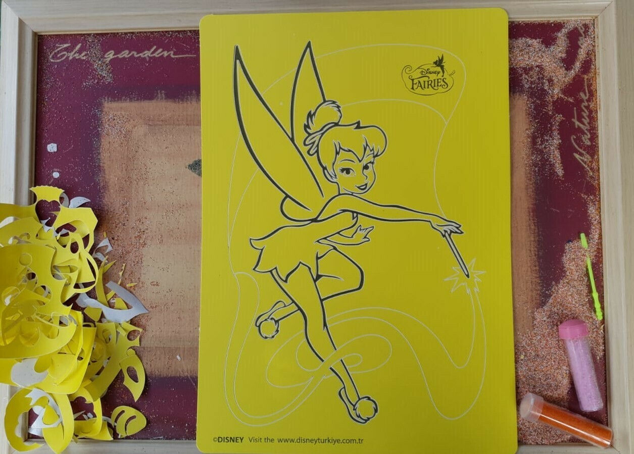 Disney Fairys Sand Art Cards