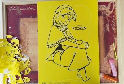 Frozen Sand Art Cards