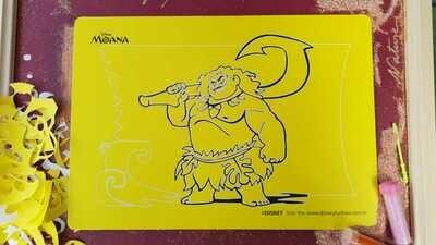 Moana Sand Art Cards