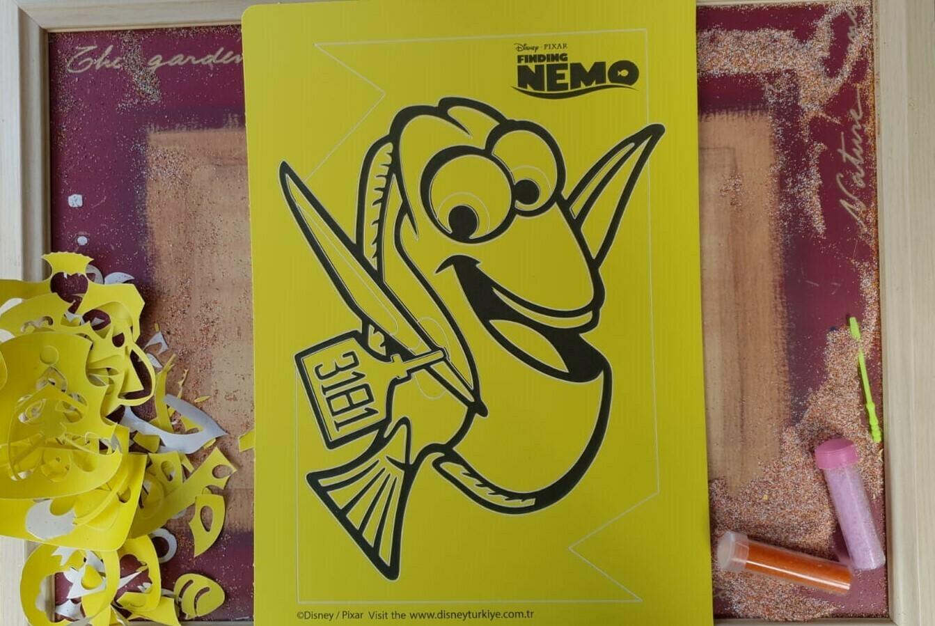 Nemo Sand Art Cards