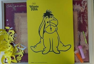Winnie the Pooh Sand Art Cards