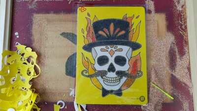 Skullys Sand Art Cards