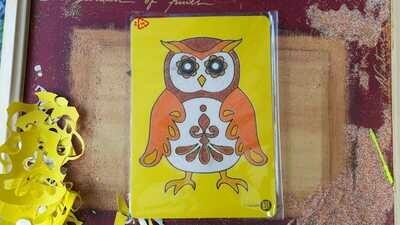 Medium Animals Sand Art Cards