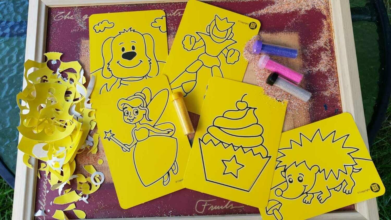 Mini Sand Art Cards