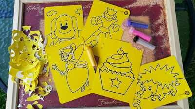 Mini Sand Art Cards