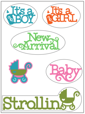 Baby Stickers