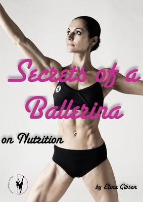 Secrets of a Ballerina - A Book On Nutrition