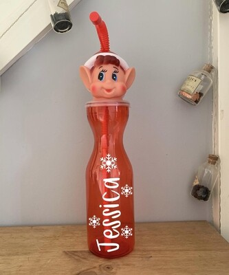 Naughty Elf Bottle (Personalised)