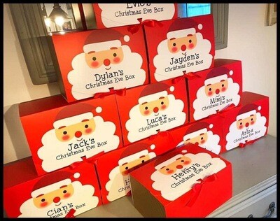 Christmas Eve Boxes (Personalised)