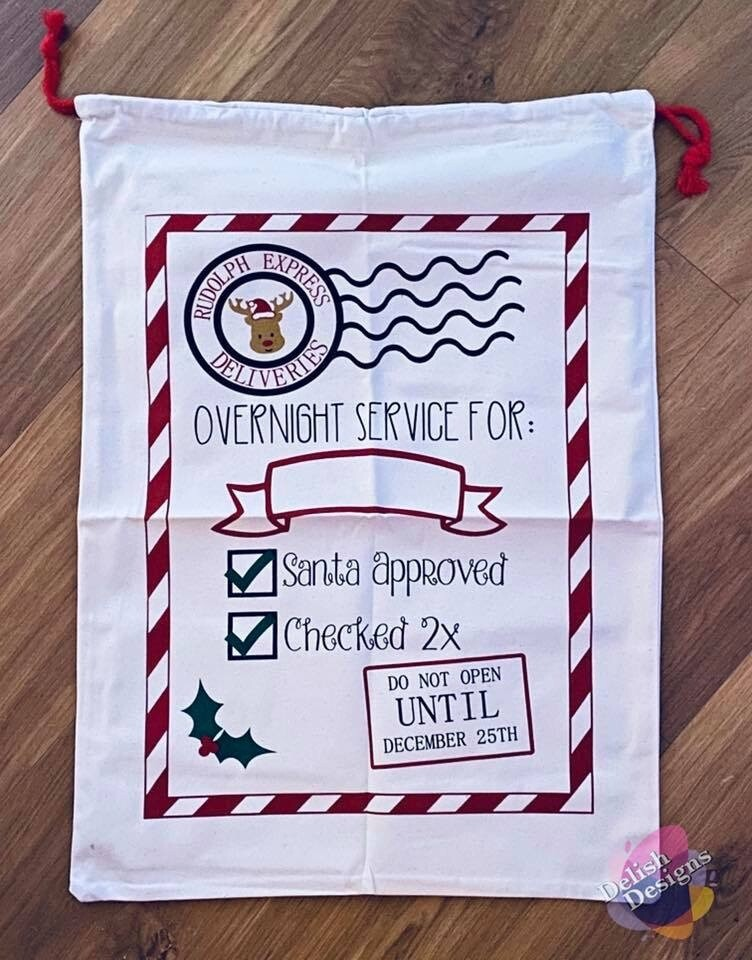 Christmas Sacks (Personalised)