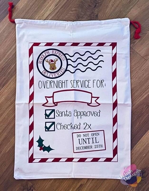 Christmas Sacks (Personalised)