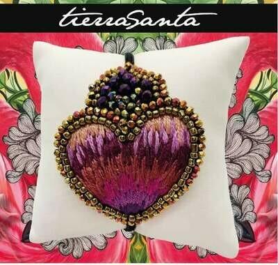 Tierra Santa Purple Heart Bracelet