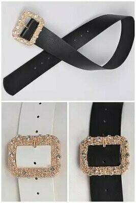 Gold With Gems Belt
