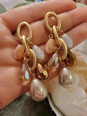 Gems Drops Earrings