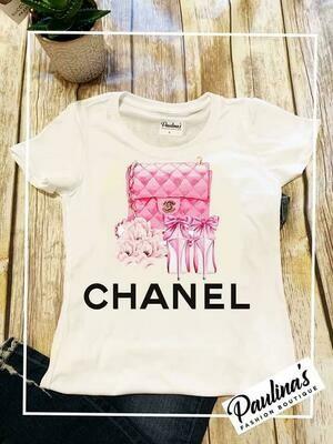 CC Pink Purse Top