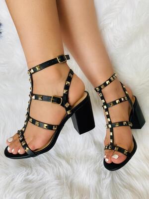 Black Valentino Heels