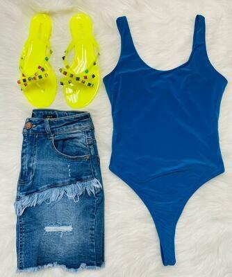 Thailand Bodysuit Blue
