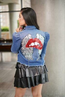 Lips Fashion Jacket