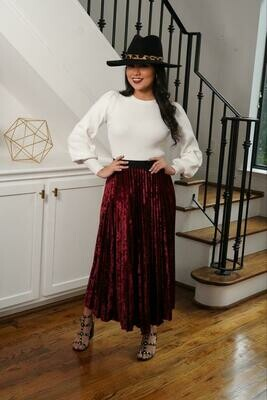 Plizada Skirt