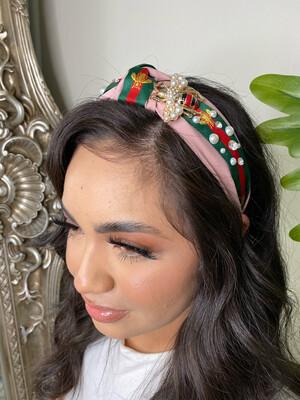 Pink Bee Headband