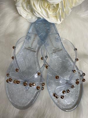 Wild Clear Sandals