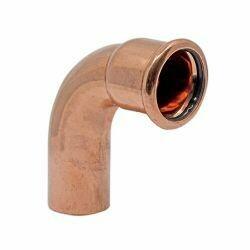 Copper Press Fitting 15mm 90° Street Elbow